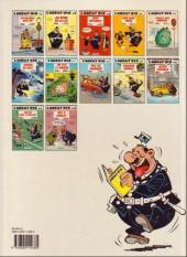 Verso de L'agent 212 -7a1990- Un flic à l'ombre