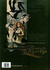Verso de Les seigneurs d'Agartha -1- La dette