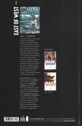 Verso de East of West -1- La Promesse