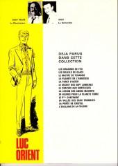 Verso de Luc Orient -10b1978- Le 6ème continent
