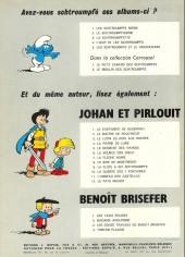 Verso de Johan et Pirlouit -8d70- Le sire de montrésor