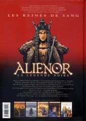 Verso de Les reines de sang - Aliénor, la Légende noire -3- Volume 3