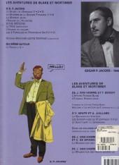 Verso de Blake et Mortimer (Les Aventures de) -12b07- Les 3 Formules du Professeur Satô - Tome 2