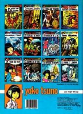 Verso de Yoko Tsuno -7b83- La frontière de la vie
