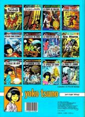 Verso de Yoko Tsuno -11a83- La spirale du temps