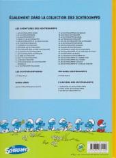 Verso de Les schtroumpfs -32- Les Schtroumpfs et l'amour sorcier
