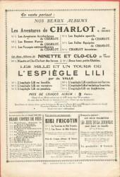 Verso de Lili (L'espiègle) -3c1928- L'espiègle Lili en pension