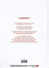 Verso de Lance Crow Dog -INT- L'intégrale