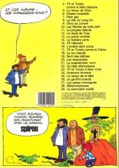 Verso de Tif et Tondu -5a1983- Le retour de Choc