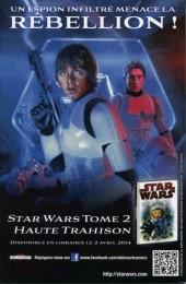 Verso de Star Wars - Comics magazine -8B- La Ballade de Luke