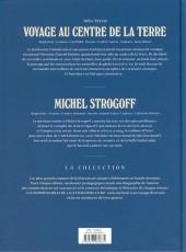 Verso de Les indispensables de la Littérature en BD -FL04- Voyage au centre de la Terre / Michel Strogoff