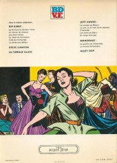 Verso de Rip Kirby -7- La valise aux dollars