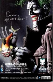 Verso de Batman Saga -22- Numéro 22