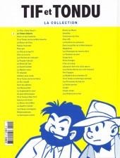 Verso de Tif et Tondu - La collection (Hachette)  -2- Le Trésor d'Alaric