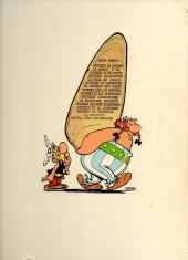 Verso de Astérix -8b1971- Astérix chez les Bretons