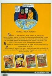 Verso de Raymond Calbuth -2a1996- A la conquête du globe