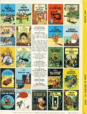 Verso de Tintin (Historique) -16C6- Objectif lune