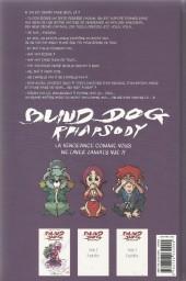 Verso de Blind Dog Rhapsody -1- Tome 1