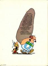 Verso de Astérix -21a1978- Le Cadeau de César