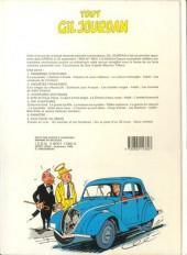 Verso de Gil Jourdan (Tout) -4- Dix aventures