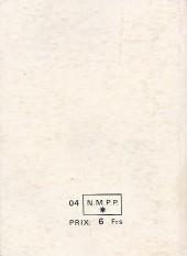 Verso de Brik (Mon journal) -Rec44- Album N°44 (du n°167 au n°169)