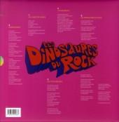 Verso de Les dinosaures du Rock - Les Dinosaures du Rock
