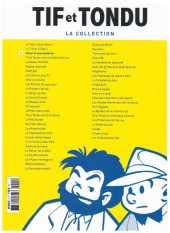 Verso de Tif et Tondu - La collection (Hachette)  -3- Oscar et ses mystères
