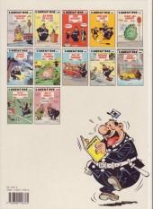 Verso de L'agent 212 -11a1991- Sifflez dans le ballon !