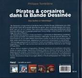 Verso de (DOC) Études et essais divers -8- Pirates & corsaires dans la Bande Dessinée - Des bulles à l'abordage !
