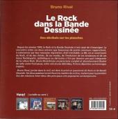 Verso de (DOC) Études et essais divers -8- Le Rock dans la Bande Dessinée - Des décibels sur les planches