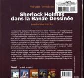 Verso de (DOC) Études et essais divers -8- Sherlock Holmes dans la bande dessinée - Enquête dans le 9e Art