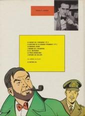 Verso de Blake et Mortimer (Historique) -2d74'- Le Secret de l'Espadon 2