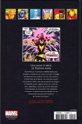 Verso de Marvel Comics - La collection (Hachette) -23- Uncanny X-Men - Le Phénix noir
