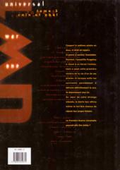 Verso de Universal War One -3- Caïn et Abel