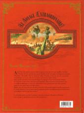 Verso de Le voyage Extraordinaire -3- Tome 3 - Le Trophée Jules Verne 3/3