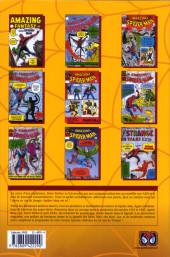 Verso de Spider-Man (L'Intégrale) -1INT 50 ans- Spider-man : l'intégrale 1962-1963