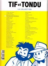 Verso de Tif et Tondu - La collection (Hachette)  -4- Tif et Tondu contre la Main blanche