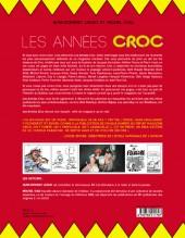 Verso de (DOC) Études et essais divers - Les années Croc : l'histoire du magazine qu'on riait