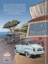 Verso de Jacques Gipar (Une aventure de) -5- Trafic sur la grande bleue