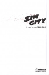 Verso de Sin City -3c14- Le grand carnage