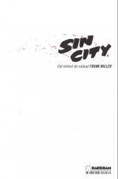 Verso de Sin City -4c14- Cet enfant de salaud