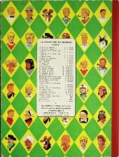 Verso de Blake et Mortimer (Les aventures de) (Historique) -6a1957- L'Énigme de l'Atlantide