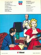 Verso de Rip Kirby -8- La fille du gangster