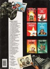 Verso de Spirou et Fantasio -1d1993- 4 aventures de Spirou ...et Fantasio
