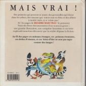 Verso de (AUT) Claveloux - Bizarre, mais vrai !