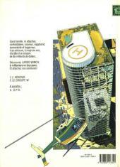 Verso de Largo Winch -2- Le groupe W