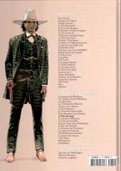 Verso de Blueberry - La collection (Hachette) -3831- Le Prix du sang