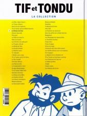 Verso de Tif et Tondu - La collection (Hachette)  -5- Le Retour de Choc