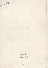 Verso de El Bravo (Mon Journal) -Rec21- Album N°21 (du n°61 au n°63)