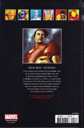 Verso de Marvel Comics - La collection (Hachette) -340- Iron Man - Extremis